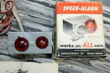 Vintage Speed Alarm nos auto gm ford chevy rat hot rod