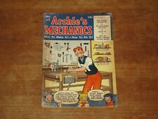 1954 ARCHIE'S MECHANICS #1 GOLDEN AGE NICE GRADE CHECK MY HARD TO FIND COMICS!