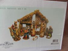 6' Resin Nativity 7 Piece Set Kurt S Adler Nib