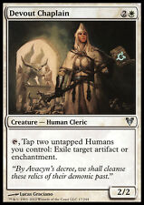 MTG 2x DEVOUT CHAPLAIN - CAPPELLANA DEVOTA - AVR - MAGIC