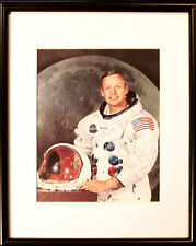 NEIL ARMSTRONG SIGNED PHOTO FRAMED PA142