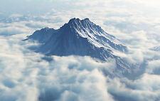 Framed Print - Mount Olympus (Greek Gods Mythological Thor Zeus Picture Poster)