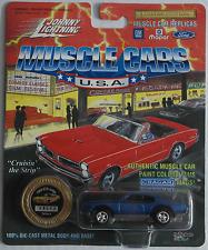 Johnny Lightning -'69/1969 Pontiac GTO Judge blaumet. Nuovo/Scatola Originale