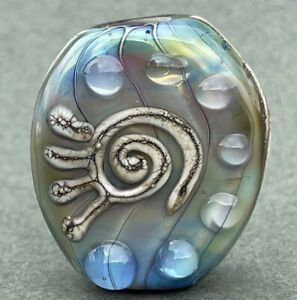 Handmade Lampwork Focal Bead ~ Kokopeli ~ By Soul Of Glass SRA