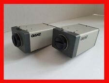 GANZ CCD DIGITAL CAMERA LOT OF TWO CAMERAS MOD FC-62D FOR SECURITY SURVEILLANCE
