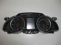 Audi A5 8T Tdi Diesel Fis Mfa Acc Tachimetro Gruppo Strumento Combinato