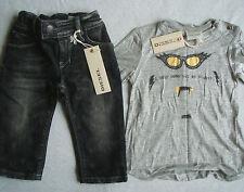 BNWT Diesel Bébé Fille Slim & L/S T shirt femme taille 6 mois RRP EUR114