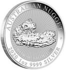 2020 1 Oz Silver $1 AUSTRALIAN NUGGET Hands Of Faith 1860 BU Coin.
