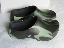 NEW & RARE Birkenstock Ladies Camouflage Green Clogs Sandals UK Size 3.5 EU 36