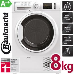 Bauknecht Wärmepumpentrockner 8 kg Trockner Wäschetrockner Wolle Frontlader A++