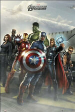 The Avengers Assembled 24 x 36 Inch Comics Poster