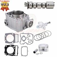 Cylinder Piston Gasket Camshaft Top End Kit For Polaris Ranger 500 1999-2012