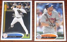 2012 Topps Baseball You Pick 20 Cards to Complete Your Sets Series 1, 2, Updates