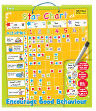 Large Magnetic Reward Star Chart  Activity & coloured reward star magnets