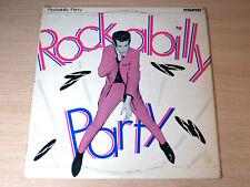 """EX !! Rockabilly Party/1979 Ace 10"""" LP/Hal Harris/Les Cole & Echoes/Rock Rogers"""