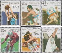 Laos 1193-1198 (kompl.Ausg.) postfrisch 1990 Olympische Sommerspiele ´92