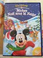 DVD Film dessin animé Mickey noel sous la neige - Walt Disney