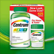 Centrum Adults Under 50 425 (365+60) Tablets (For Men and Women)
