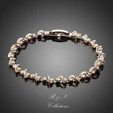 Swarovski Rose Gold Plated Fashion Bracelets