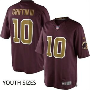 Nike Robert Griffin III Washington Redskins Youth Boys Throwback Game Jersey