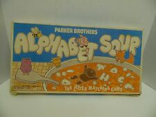 1981 Alphabet Soup Parker Brothers Kids Spelling Board Game- Complete!