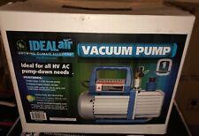 Ideal Air HV AC Vacuum Pump 700582 New Free Shipping