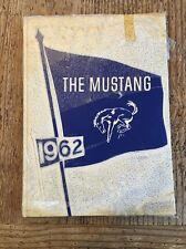 La Marque Texas Junior Jr. High School Mustang 1962 Yearbook Annual Sockwell