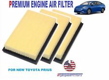 PACK OF 3 PREMIUM Engine Air Filter for NEW 2016 2017 TOYOTA PRIUS