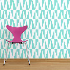Geo Allover Stencil - SMALL - Geometric Wall Pattern Stencils - DIY Home Decor