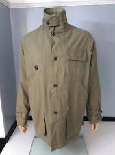 "maharishi HMI khaki Grren Jacket Coat Size Large P2p 26"" Inches Vgc"