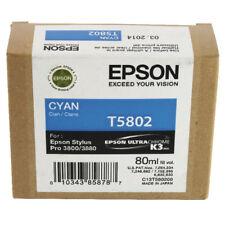 Cartouche Epson T5802 - 80 ml - cyan