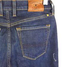 Lucky Brand Women's Sz 0 / 25 Charlotte Kick Flare Jeans 34 Inseam Dark Blue