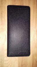 Authentic Burberry Black Continental Leather Long 18CC men/women wallet, NEW