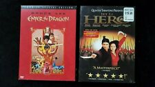 Enter the Dragon (Dvd, 2004, 2-Disc Set, Special Edition) + Hero Jet Li Dvd