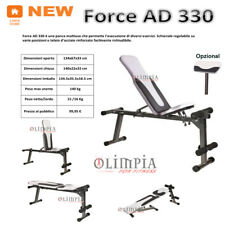 GetFit - FORCE AD 330 - Panca Pesi Inclinata Declinata Addominali RICHIUDIBILE