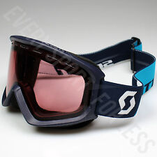 Scott Fact Illuminator Lens Ski/Snowboard Goggles-Eclipse Blue (NEW) Lists @ $50