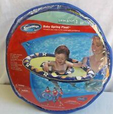 New Swimways Baby Spring Float Swim Inflatable Pool Ring 9-24 months
