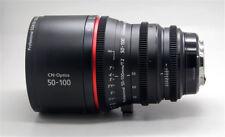 Cinematics Cine lens sigma 50-100mm T2.0 F1.8 EF for BMCC URSA RED RAVEN SCARLET