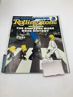 "Rolling Stone Magazine -The Simpsons ""Abbey Road"" Cover Issue #910 Nov. 28, 2002"