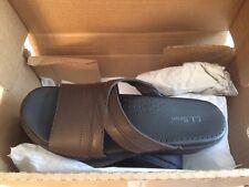 L.L. Bean Brown Sandal Clogs New Size 38M (7 1/2)