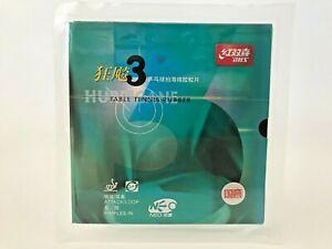 DHS Hurricane 3 NEO National Table Tennis Rubber Blue Sponge 2.1mm PRO