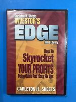 Investor's Edge: How To Skyrocket Your Profits (DVD) New Sealed