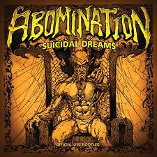 Abomination - suicidal dreams: official live bootleg (CD), NEW, Neuware