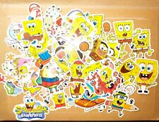 20 X SpongeBob Squarepants Waterproof Stickers