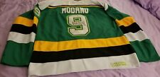 Minnesota Northstars Green Mike Modano AUTOGRAPHED   #9 JERSEY