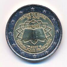 Frankreich 2 € Euro Gedenkmünze 2007 Römische Verträge unz.-bankfrisch