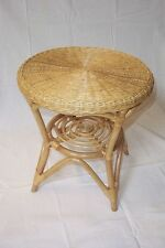 Rattan Table NEW Colour Honey 65 cm
