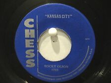 Rocky Olson  Jet Tones  Chess 1723  Kansas City b/w Jet Tone Boogie  Rockabilly