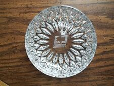 PARK EAST Clear Candy Dish Wayne County NC Industrial Business Crystal? Vintage?