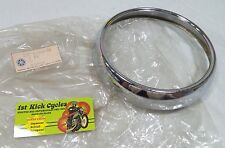 NOS YAMAHA GENUINE NOS RD200 CS2 HEAD LIGHT RIM 237-84315-00